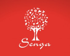 Identité visuelle - Logo Senga