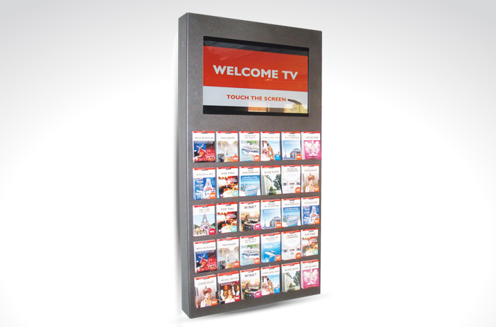 Design graphique welcome TV