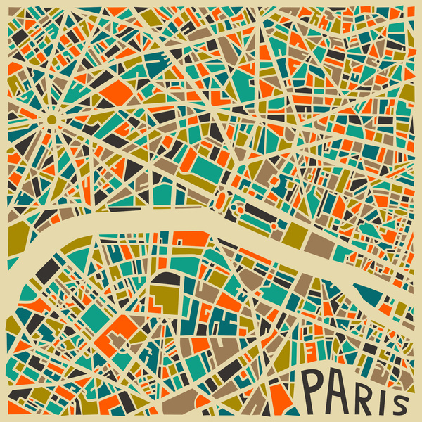 Cartes graphiques Paris