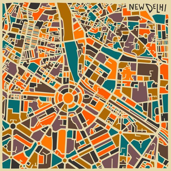 Cartes graphiques New Delhi