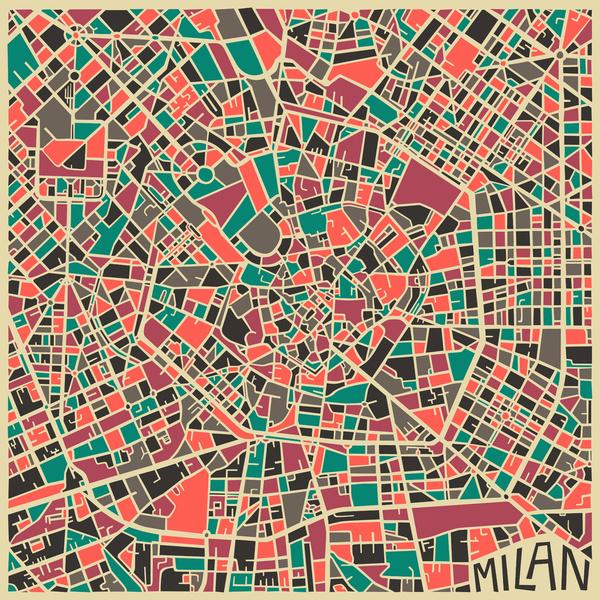 Cartes graphiques Milan