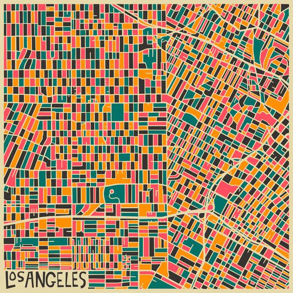 Cartes graphiques Los Angeles