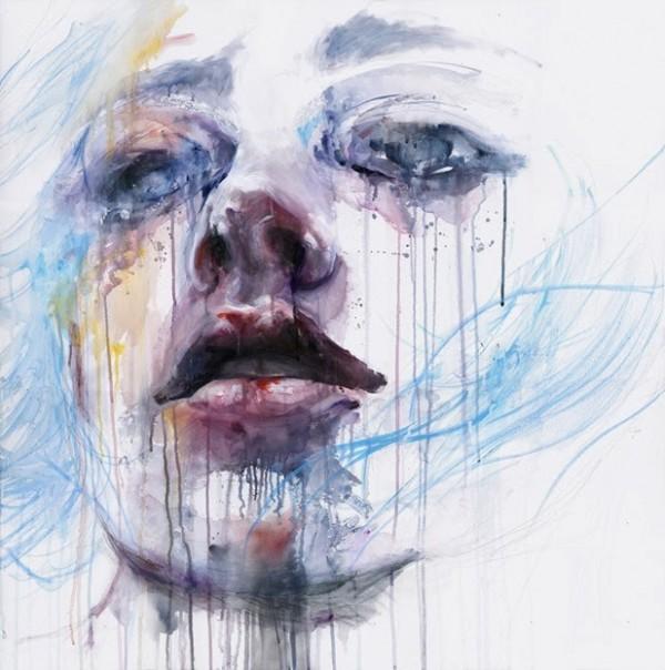 Aquarelles by Agnes-Cecile