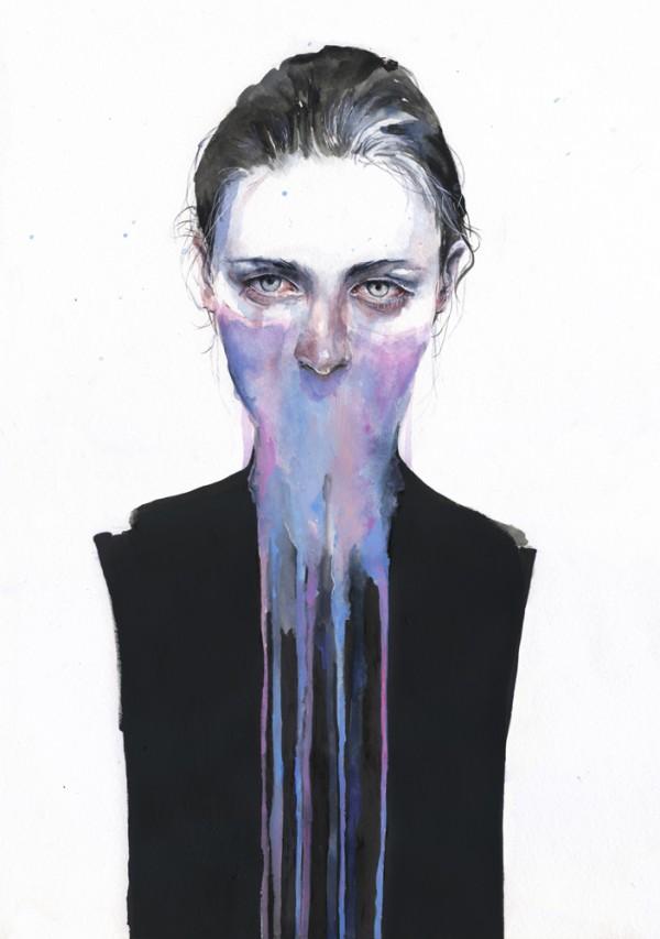 Aquarelles Agnes-Cecile
