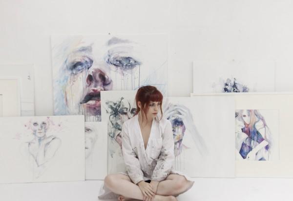 Aquarelles d'Agnes-Cecile