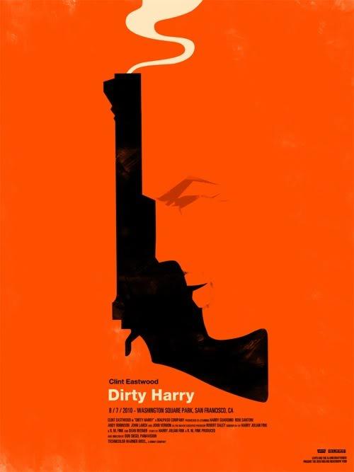 Dirty Harry par Olly Moss