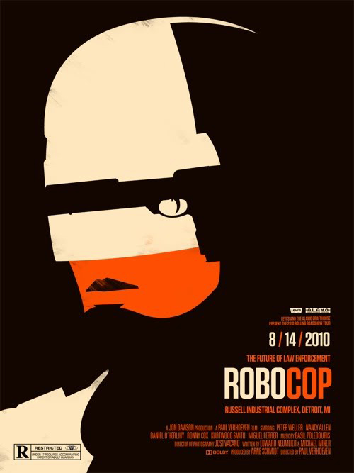 Robocop by Olly Moss