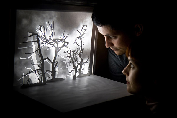 Dioramas poétiques par Davy et Kristin McGuire