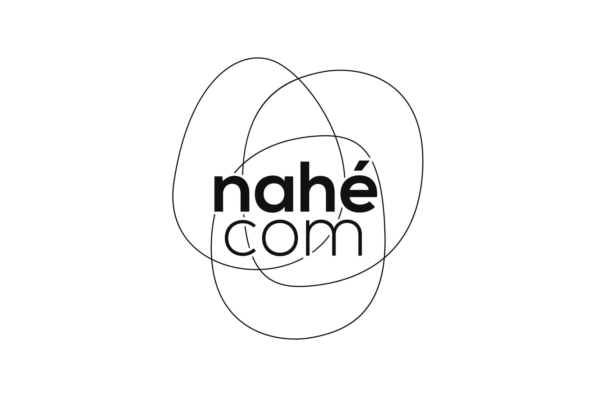 Logotype noir de l'agence Nahécom