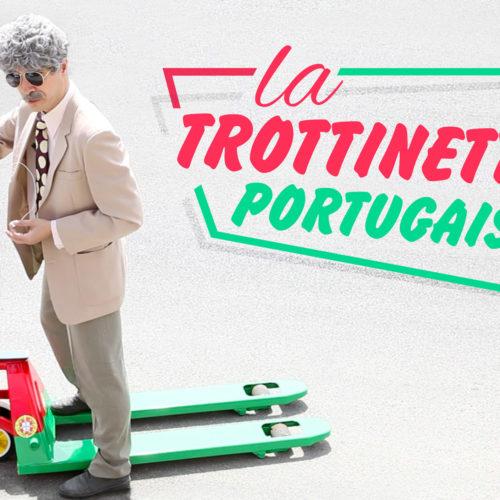 Visuel youtube pour la trottinette portugaise