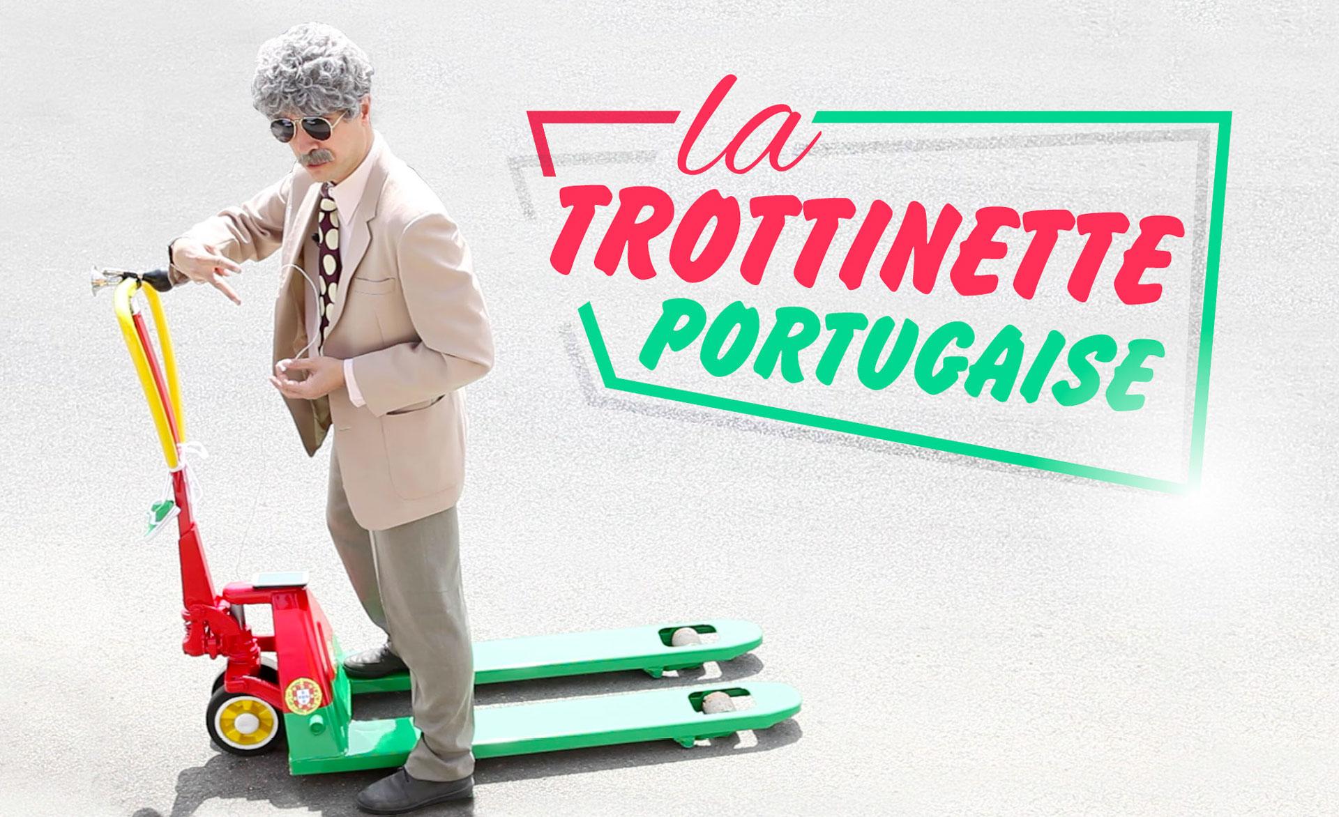 Visuel Youtube José Cruz la trottinette portugaise