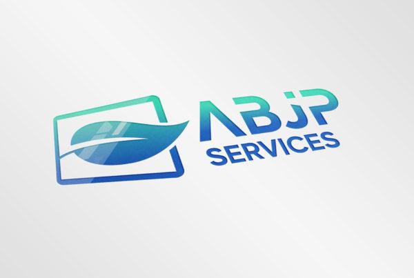 Logo ABJP Services sur papier
