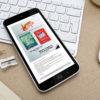 Conception newsletter HTML responsive Wouatz Imp pour Imprim Plus