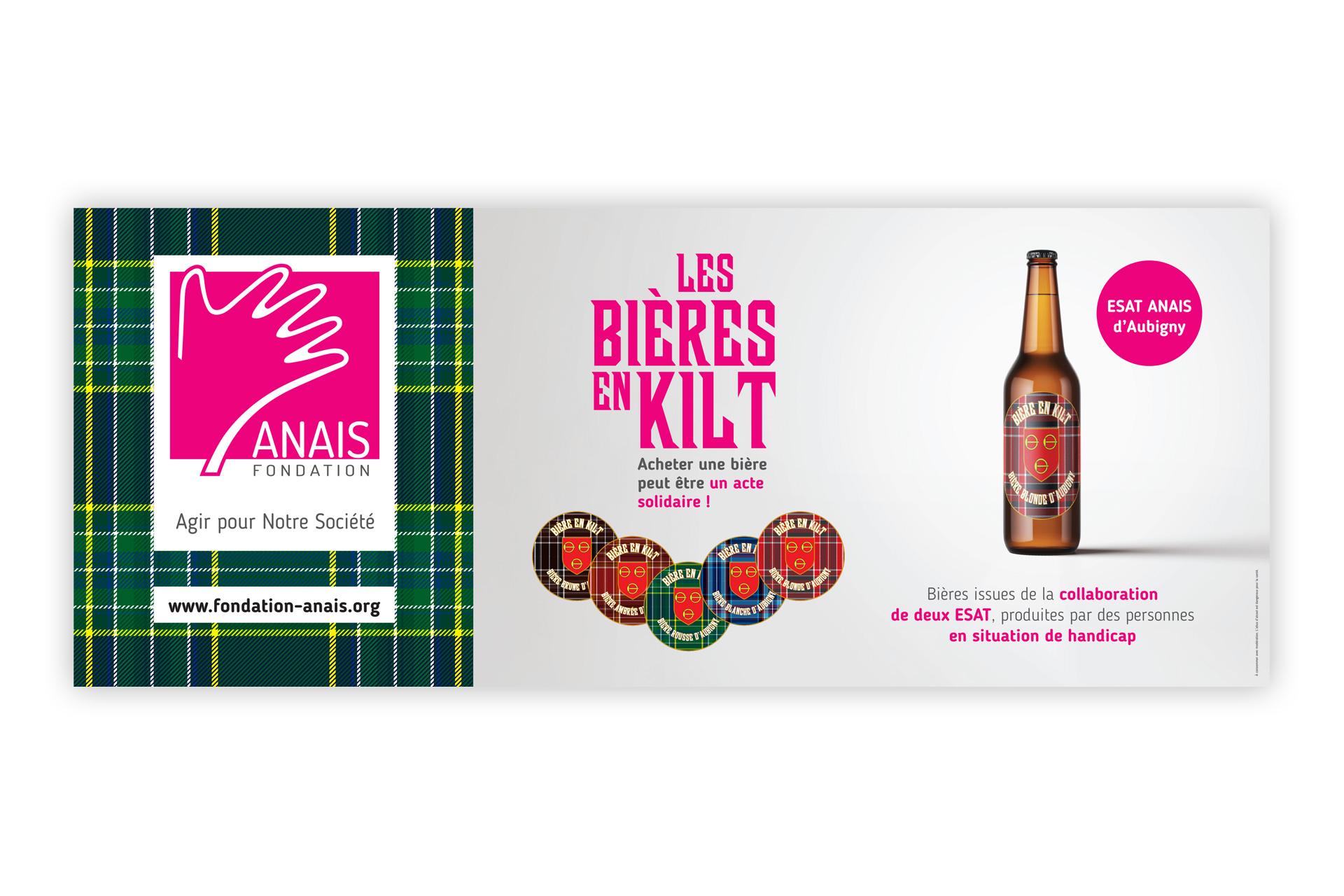 Banderole Bières en Kilt