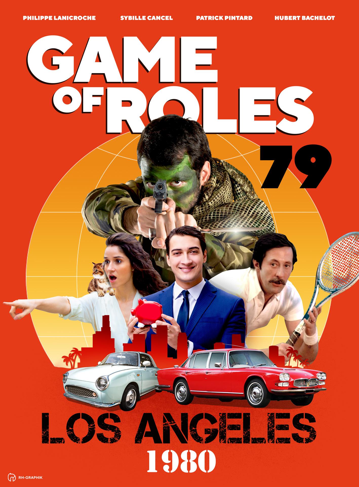 Visuel affiche pour game of roles 1979