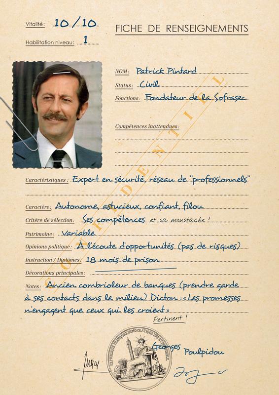 Fiche de personnage Patrick Pintard pour game of roles 1979